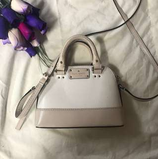 ORIGINAL Kate Spade mini long strap bag with small handles *Price Negotiable*