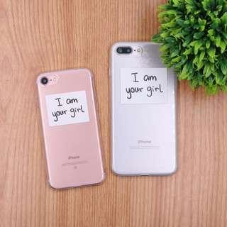 I Am Your Girl Printed Soft TPU Case