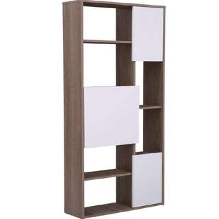 Newly arrived bookcase with white panel for sale