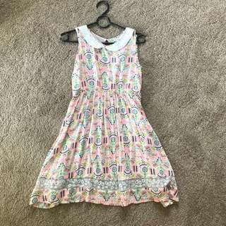 Patterend Summer Dress