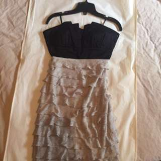 Brand New Le Chateau Strapless Dress