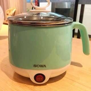 Sowa Tiffany綠 1.2公升不鏽鋼美食鍋