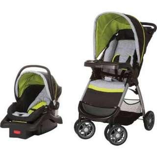 Baby Crib, Stroller, Walker