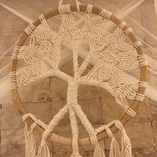BRAND NEW Tree of Life Dreamcatcher (natural)