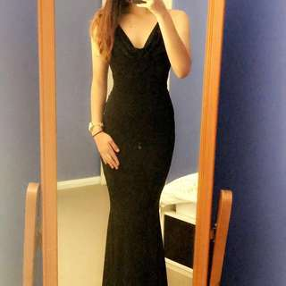 HIRE: black Nookie formal dress