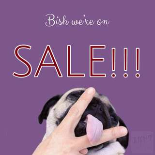 ONGOING SALE!!!