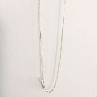 45cm Sterling Silver 45cm Curb Chain