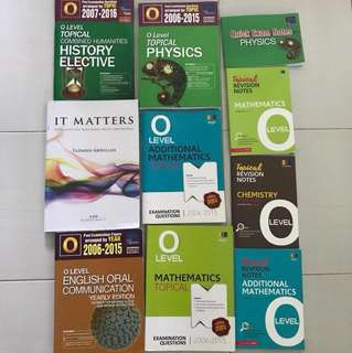 Sec 4 TYS and Books