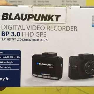 Blaupunkt Digital Video Recorder BP 3.0 FHD GPS (Black)