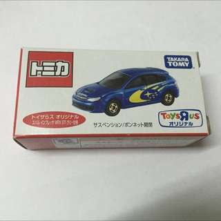 Tomy Tomica Subaru Impreza WRX STI Toys R US 玩具反斗城 日版 未開過