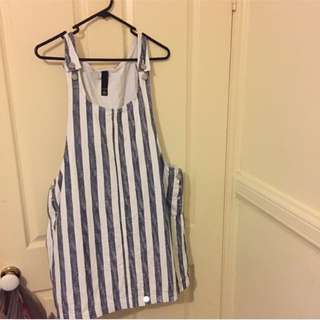 Stripped overalls