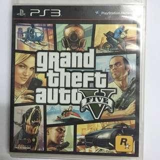 PS3 Grand Theft Auto GTAV 行貨中英文版