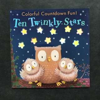 💥 NEW - Ten Twinkly Stars - Children Story Book