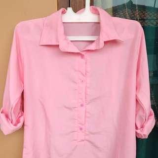 new!! kemeja pink