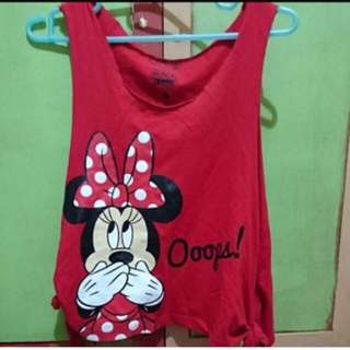 Minnie Top with slits