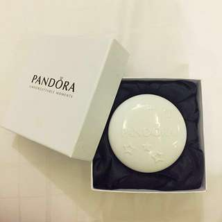Authentic Pandora ceramic jewelry box