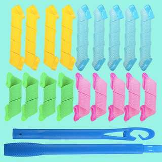 Heat-less curlers(18)