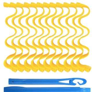 Heat-less curler