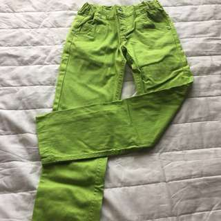 Blocking colour jeans fo girls 9-12 yrs