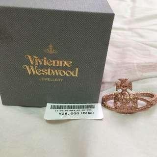 Vivienne Westwood 雙指土星戒