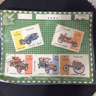 Cuban 1984 Stamps - Automobile Series