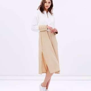 Colour Block Shirt Dress