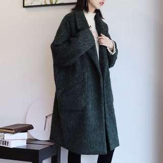 60%羊毛呢大衣(預購)