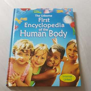 Preloved The Usborne hardcover First Encyclopedia of the Human Body