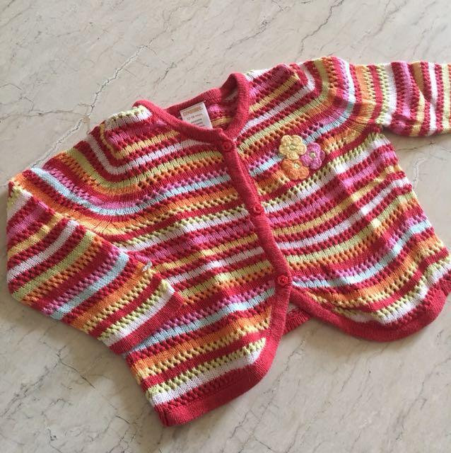 12-24M Gymboree Rainbow Sweater