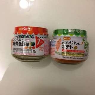 和光堂嬰幼兒副食品攜帶型罐頭(7個月以上適用