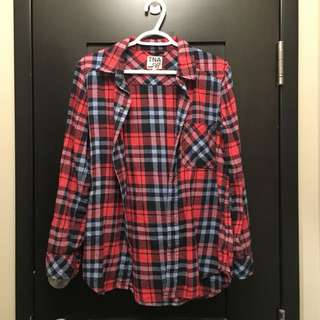 ARITZIA TNA Plaid Flannel