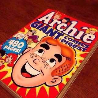 Archie Giant Comic Digest (480 Pages)
