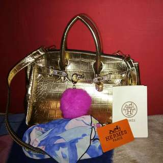 Hermes Bag 2in1