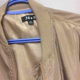Gold bomber from Shop M Boutique