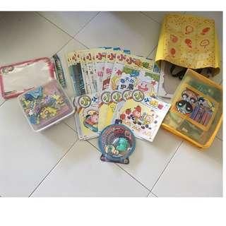 小拇指,小小拇指, puzzles(assortment), Chinese and Dots Flash Cards
