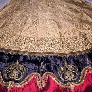 Baju india / lengga india (pemakaian cuma 1 x )
