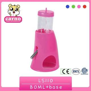 Hamster Drinking Bottle & 2-in-1 Stand