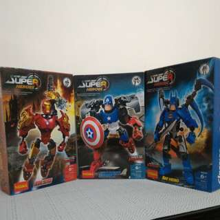 Super Heroes Toys