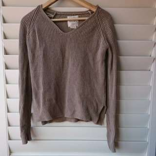 Cotton On dark beige knit