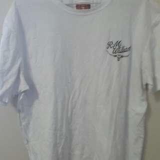 R.M Williams white t shirt