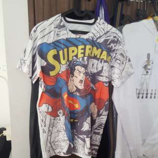 kaos DC superman NEGO!!!