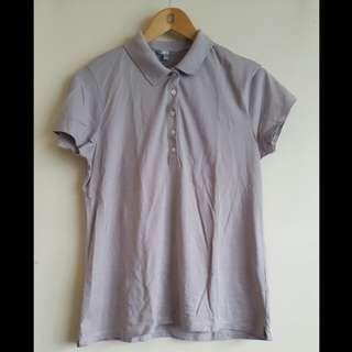 Gray UNIQLO Collared Shirt (XL)