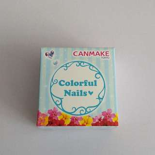 Canmake Colorful Nails- two colors