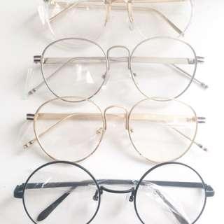 Non prescription Glasses Fashion Round Korea