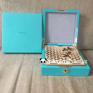 NaughtyPandaz生活百貨 Tiffany 2017 Mid Autumn Candle Decoration Jewellery Box 首飾盒 中秋 裝飾 蠟燭