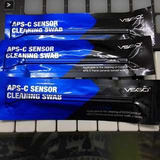 Sensor cleaner for aps-c sensors