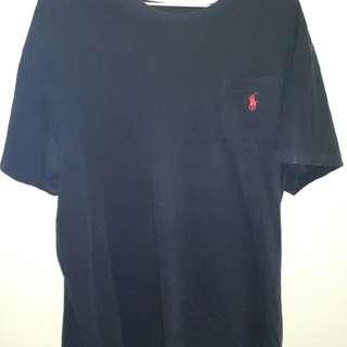 Ralph Lauren navy blue t shirt