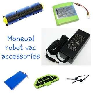 BN Moneual robot vac accessories