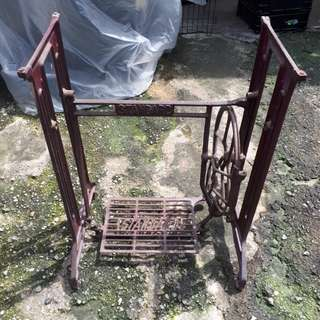Old Iron Sewing Machine