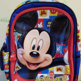 🚚 Mickey Mouse School Bag